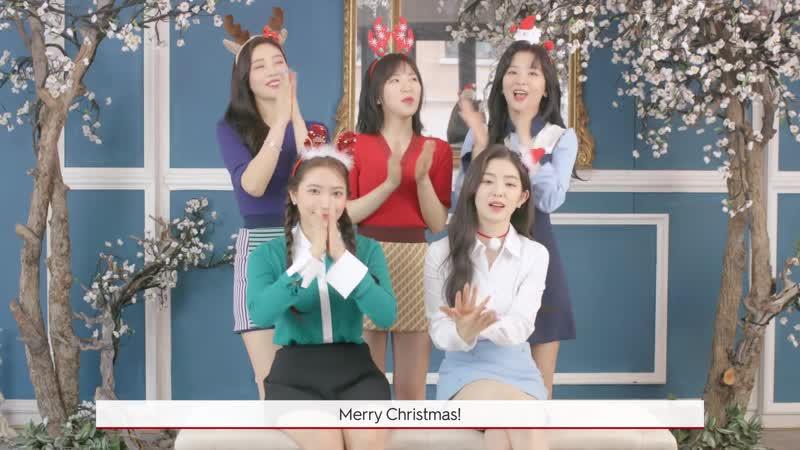 2019 The Shilla Duty Free Red Velvet 크리스마스 인사 Christmas Greeting