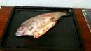 Форель с начинкой и картошечкой в духовке
