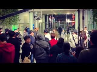 Running man filming 11/11/19
