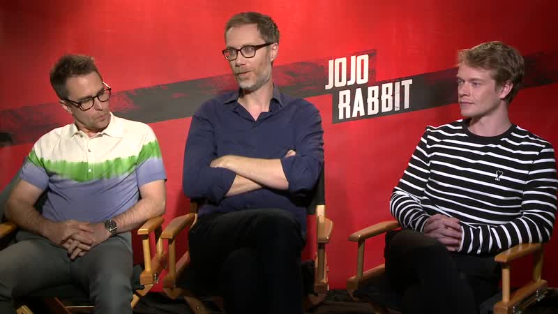 Alfie Allen_Jojo Rabbit _Junket Interview