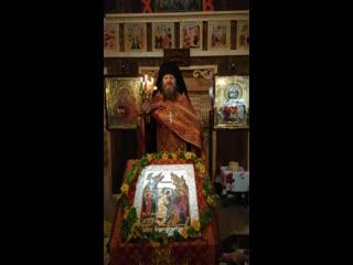 Пасхальная проповедь отца Тихона в Рекони.