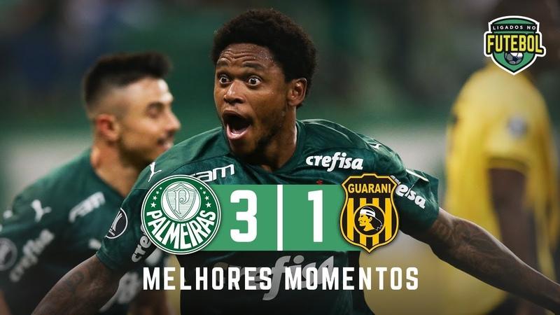 HAT TRICK DE LUIZ ADRIANO | Palmeiras 3 x 1 Guaraní-PAR | Melhores Momentos | HD 10032020