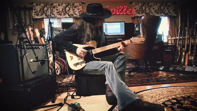 Lonesome Delta Blues Electric Guitar