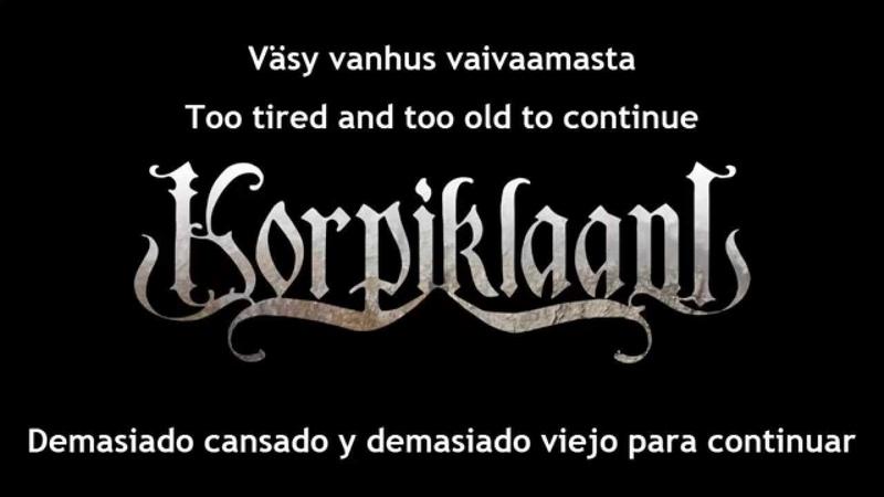 Korpiklaani - Vesilahden Veräjillä [Subs Español English lyrics]