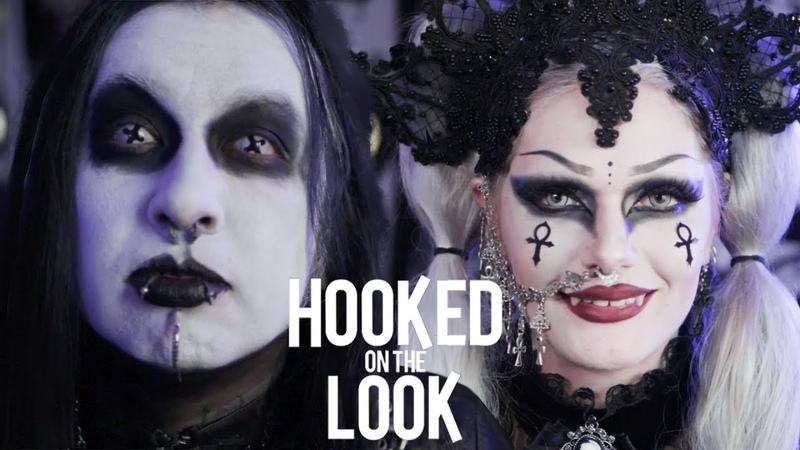 Couple Dress As Vampires Every Day HOOKED ON THE LOOK