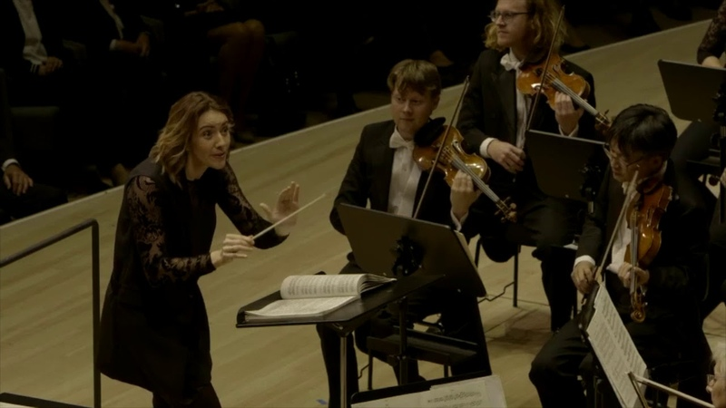 Alondra de la Parra conducts PROKOFIEV Classical Symphony IV movement