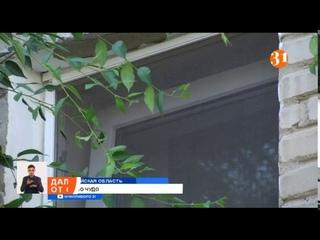 Четырехлетний ребенок выпал из окна пятого этажа и выжил
