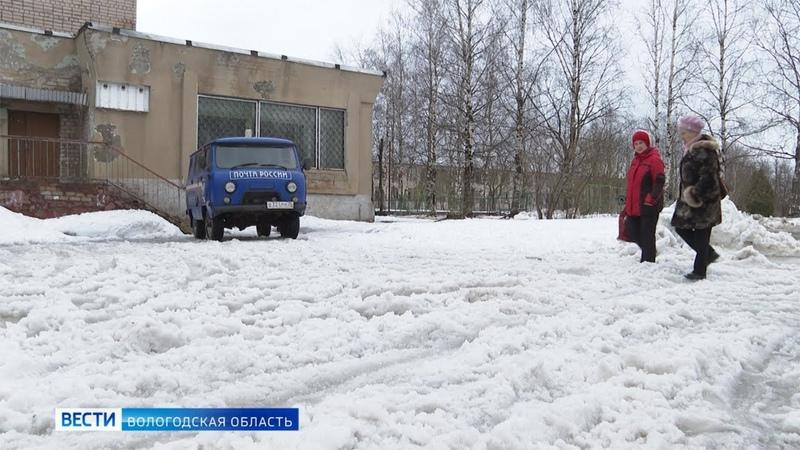 Дороги Череповецкого района поплыли из за оттепели