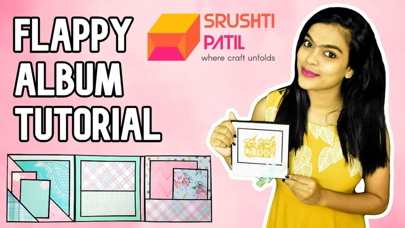 Flappy Album Tutorial by Srushti Patil | Holds more than 30 Photos and Messages | Photo Folio