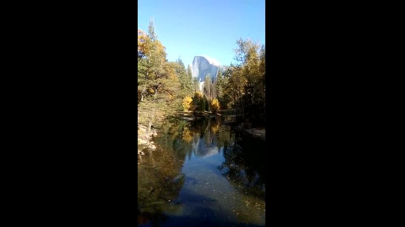 2 Красота с моста Йосемити США
