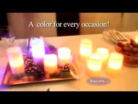 Светодиодные электронные свечи Luma Candles - belts_com_ua