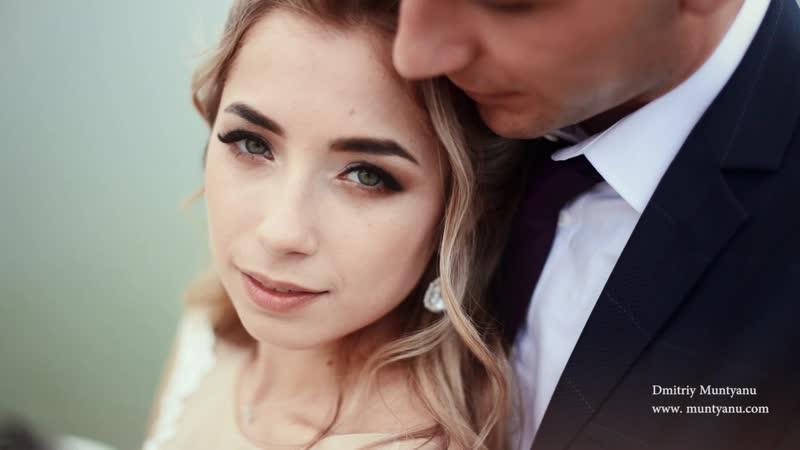Очень романтическая свадьба Свадебное видео в Харькове Свадебный клип трейлер фильм Видеограф wedding trailer teser