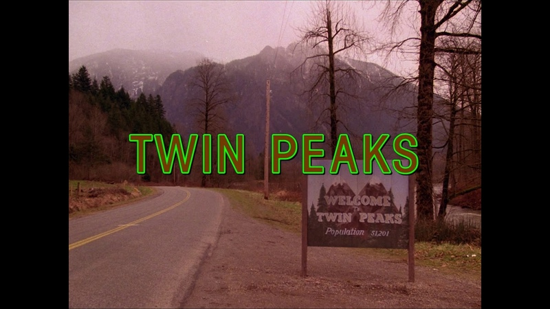 Заставка к сериалу Твин Пикс Twin Peaks Opening Credits