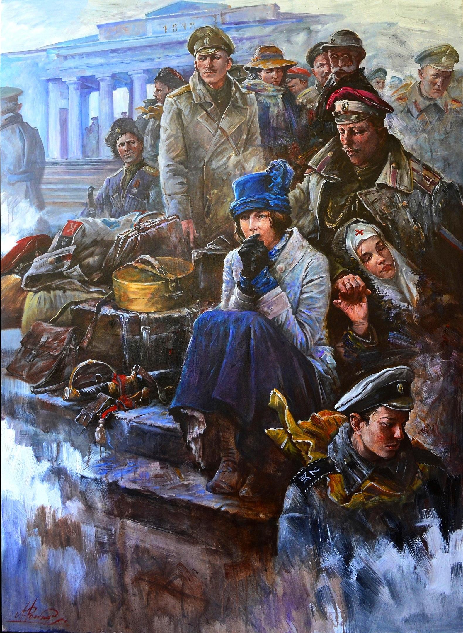 Белый исход. Эвакуация врангелевской армии из Крыма в ноябре 1920 года