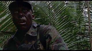 Смерть Блэйна. Шквал огня. Попытка убить хищника. Хищник 1987.