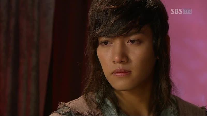 Эпизод из дорамы Воин Пэк Тон Су 15 сер Спасибо тебе Тон Су