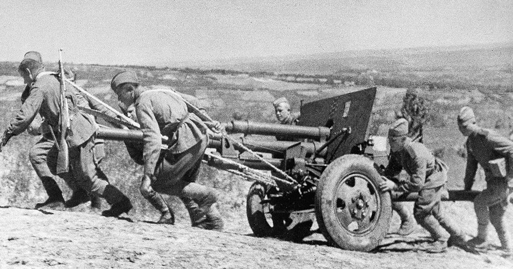 Артиллерия на позиции