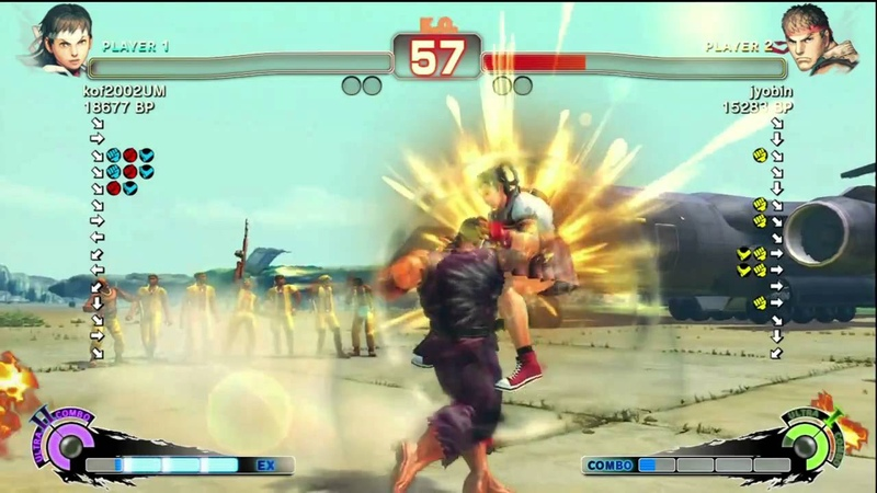 Juso Sakura vs jyobin Ryu SSF4 Japanese Online Ranked Matches TRUE HD