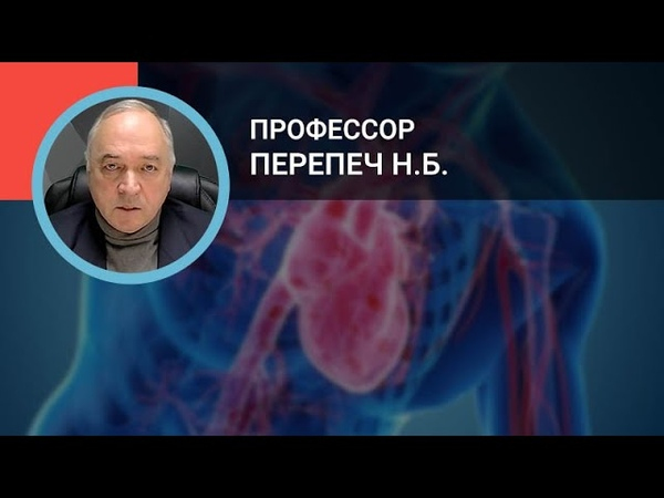 Професор Перепеч Н Б Диагностика и лечение тромбоэмболии лёгочной артерии Рекомендации 2019 года
