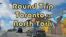 Summer Round Trip between Downtown Toronto Ryerson University and North York Keele and Lawrence
