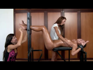 Naked, Tickled and Oiled Victoria