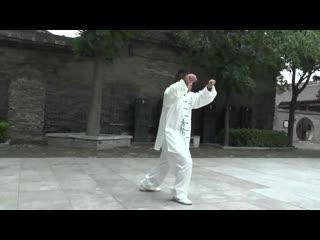 杨式武式太极第五、六代传人闫志永老师杨氏太极拳85式演示