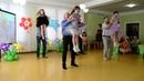 Зажигательный танец с папами Выпускной бал Стиляги в детском саду