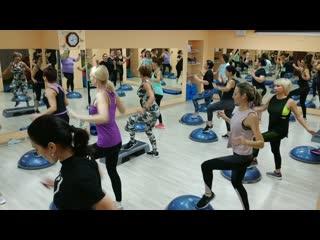Bosu cardio aerobics. танцули мои, вы суперрр!!!
