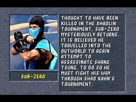 Mortal Kombat II Arcade Sub Zero Gameplay on Very Hard no Continues