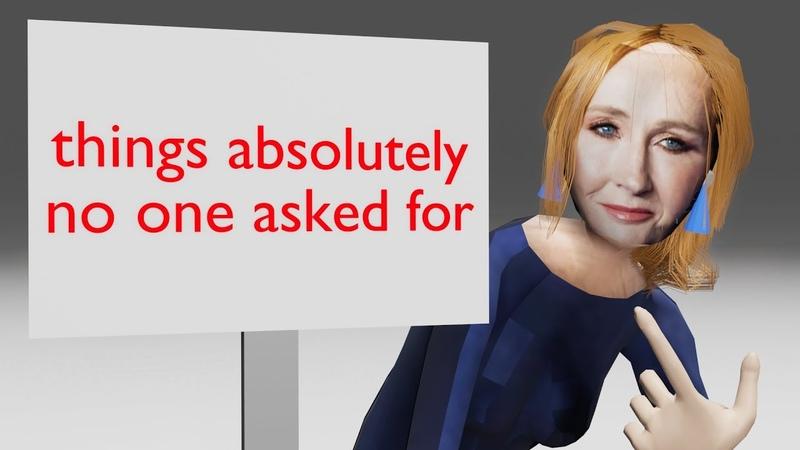 J.K. Rowling in a nutshell