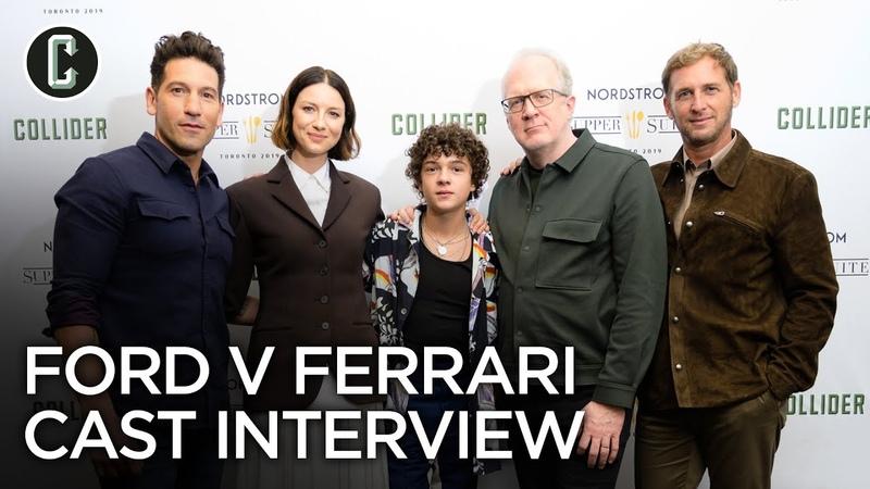 Ford v Ferrari Jon Bernthal Caitriona Balfe Tracy Letts Noah Jupe and Josh Lucas Interview