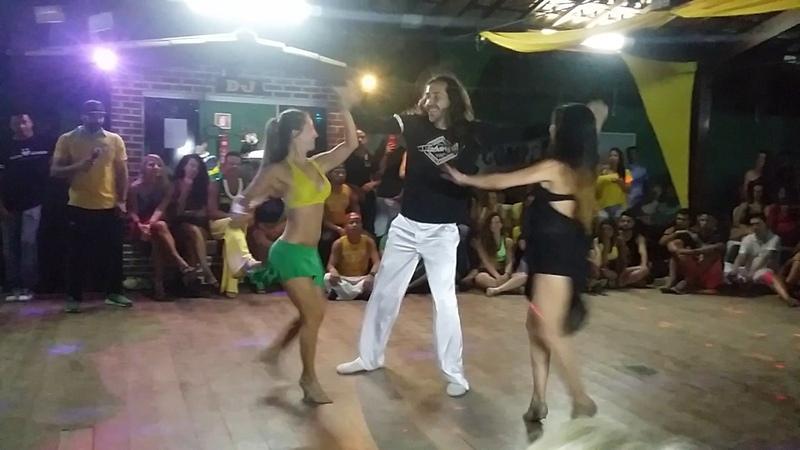 Renato Dias, Romina Hidalgo, Maria Cristiani - Zouk-Lambada show