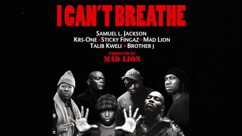Sticky Fingaz Samuel L. Jackson Krs One Talib Kweli Mad Lion Brother J. I Can t Breathe