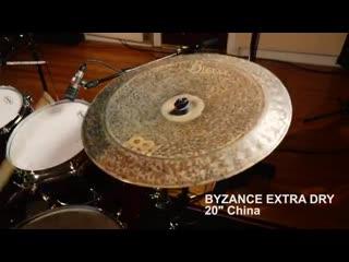 Чайна Meinl Cymbals серии Byzance Extra Dry