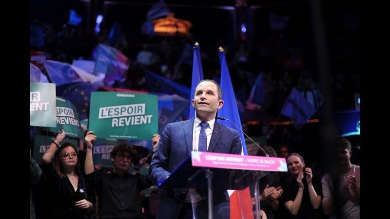 Discours de Benoît Hamon au Cirque d'Hiver 6 décembre 2018