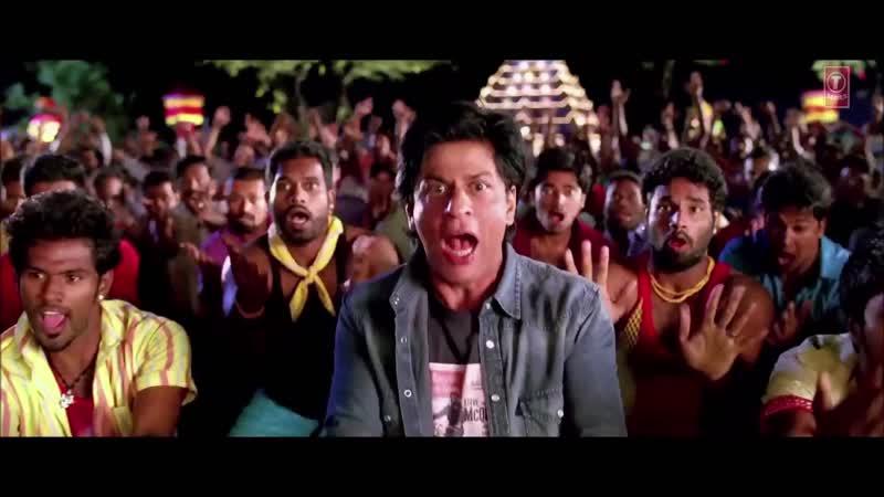 SRK maiking 1 2 3 4 song Chennai express