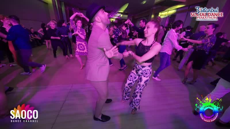 Fadi Fusion and Ezgi Süzer Salsa Dancing at Istanbul Social Dance Marathon 2020 Friday 31 01 2020