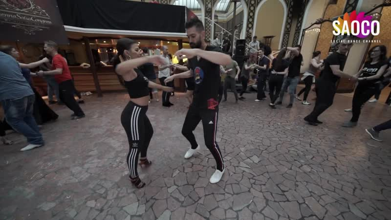 Panagiotis Aglamisis and Myrto Misyri Classes at Vienna Salsa Congress 2019 Sunday 08 12 2019