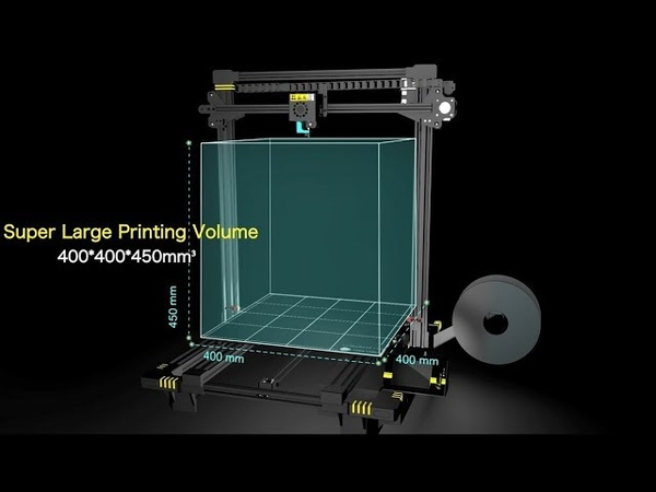 ANYCUBIC Chiron: Exciting Features and Larger Build size 3d Printer