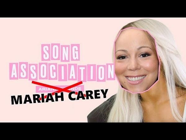 Mariah Carey Elle's Game of Song Association