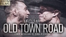 UFC 246: Conor McGregor v Donald Cerrone (HD) 'Old Town Road' Pomo, The Notorious X Cowboy, MMA, UFC