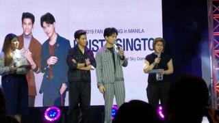 KristSingto Fan Meeting 2019 in Manila Part 6