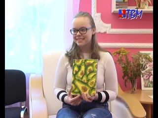 Творческий микс Виктории Феклистовой. В центральной городской библиотеке открылась новая выставка.