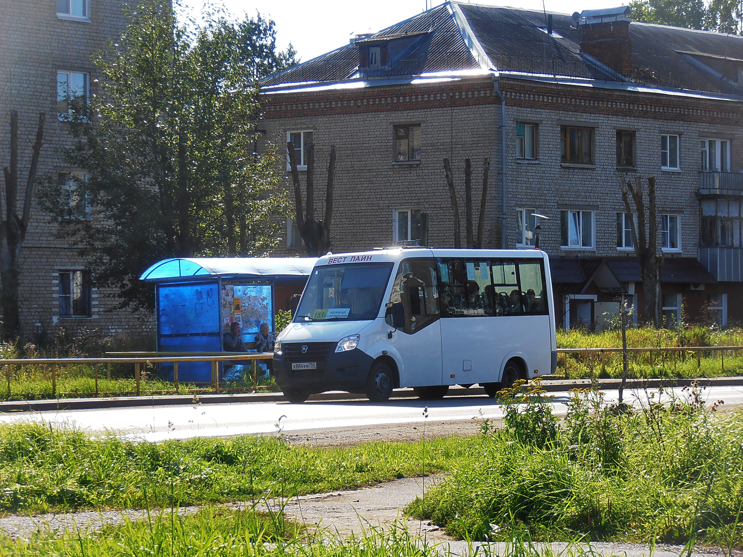 Микроавтобус №151к