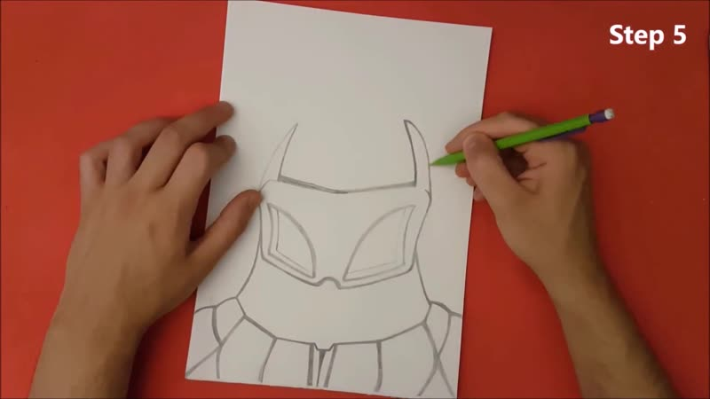 ✍ How To Draw 17 🌟 Cyrax (Old Style)   Easy 💫 Mortal Kombat