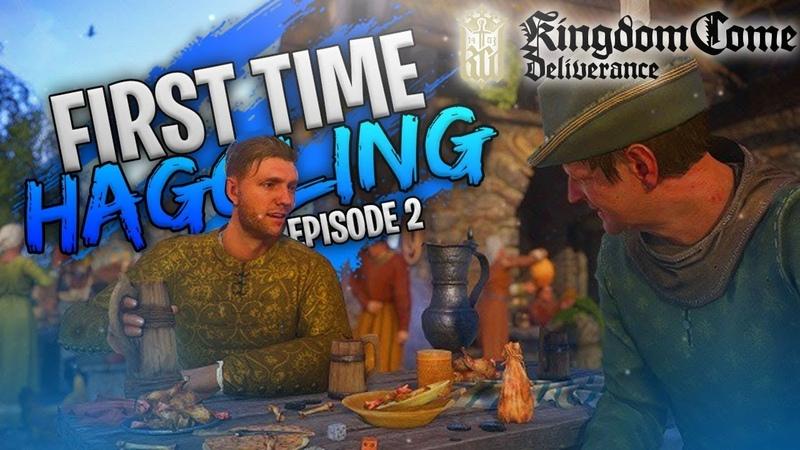 Kingdom Come Deliverance | Впервые торгуюсь! - Эпизод 2