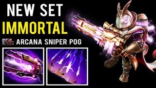 LASER GUN IS HERE! Most Epic Immortal Set Diretide Sniper Only 100+ Set Opened Best Effects Dota 2