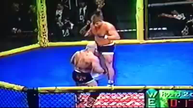 Renato Sobral Babalu vs Brad Kohler at World Extreme Fighting 'Going Platinum' o ( SD ).mp4