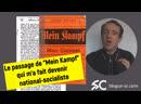Le passage de «Mein Kampf» qui m'a fait devenir national-socialiste