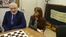 Пресс-конференция после первой игры женского матча Chess-transit